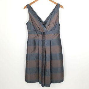 Nine West Women's Sleeveless V-Neck V-Back Dress 8